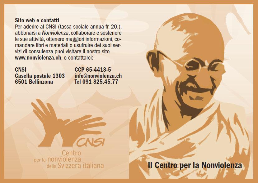 Flyer nonviolenza